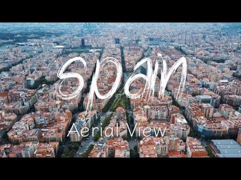 Malaga, Valencia & Barcelona In Bird's Eye   Spain   DJI Mavic Pro   4K UHD   Travel Vlog   2020  