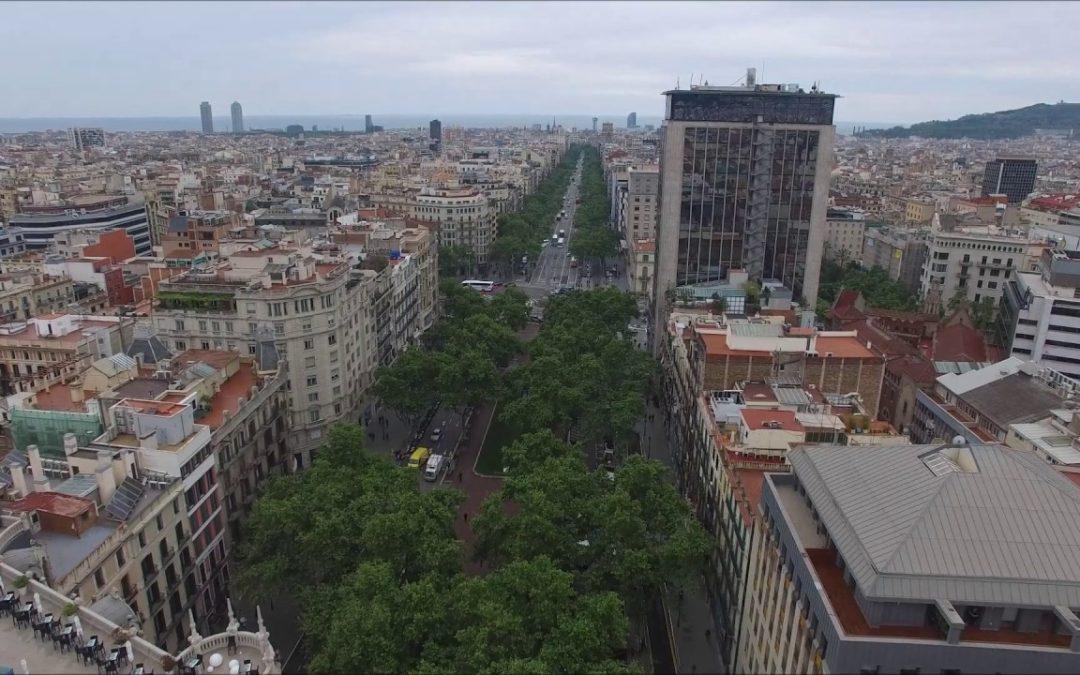 Viev From Above – Barcelona in 4K